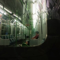 man on the underground