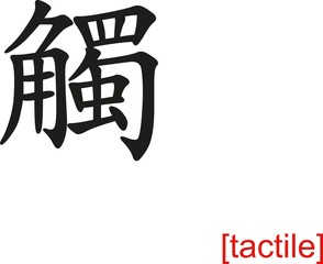 Chinese Sign for tactile