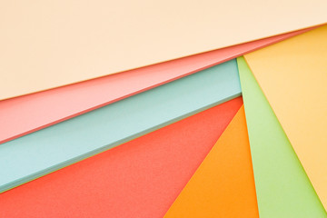 farbenfrohes Papier