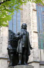 Memorial of Bach Leipzig