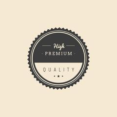 Premium label
