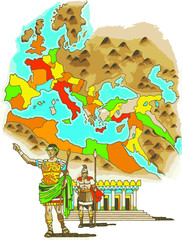 Territorios del Imperio Romano