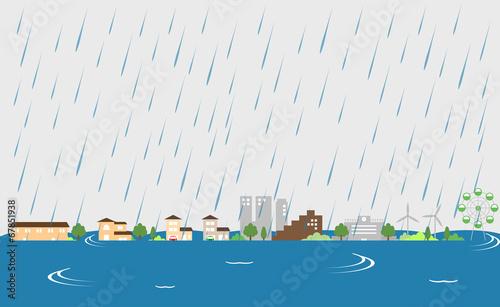 街 洪水 - 67851938