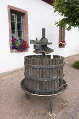Old German Wine press
