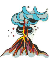 Erupción del volcán Vesubio