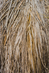 brown straw heap