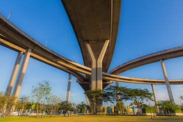 The Park Under expressway, Bangkok Thailand