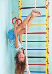 Child in a playground