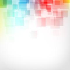kwadraty abstrakcyjne tło wektor