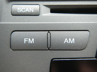 FM and AM Button