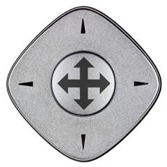 bouton et flèches directionnelles