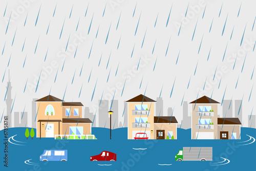 洪水 街 - 67858761