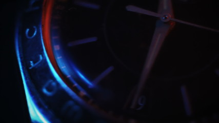hands of clock, macro background