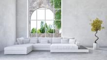 Luksusowe mieszkania wnętrze salonu