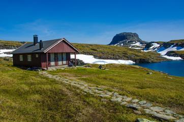 Wanderhütte Hardangervidda - Norwegen