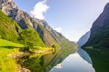 Nærøyfjord in Norway