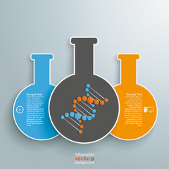 Three Tubes Infographic
