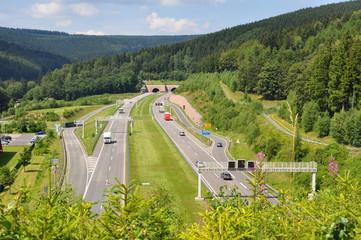 Thüringer Wald Autobahn / A 71
