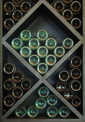 Wines on Wine Rack