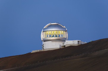 The Gemini telescope on the summit of Mauna Kea, Hawaii.