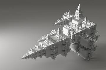Abstract fractal solid.
