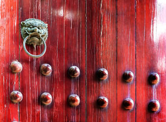 Chinese ancient buildings knocker