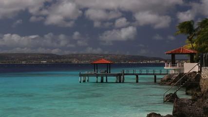 caribbean beach house