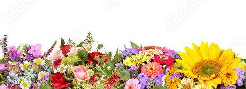 Different flower bouquets