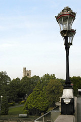 Lamp post, Putney, London