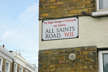 All Saints Road, Notting Hill