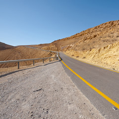 Road in Negev