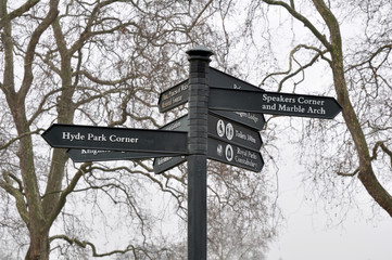 Signs, London, England