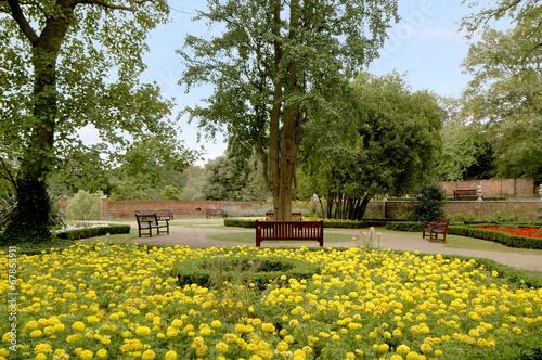 canvas print picture Park, UK