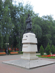 the monument to Marshal Rokossovsky