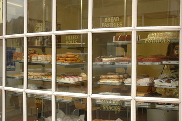 Bakery Shop Window