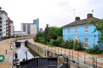 Stratford canal, London