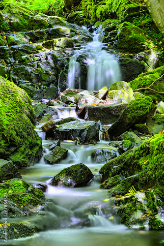 Poster Watervallen natural waterfall
