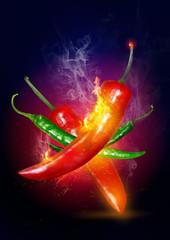 Explosive Hot Chili