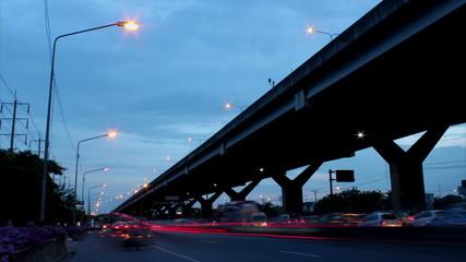 Twilight highway