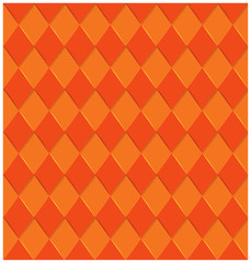 twisted orange stripes