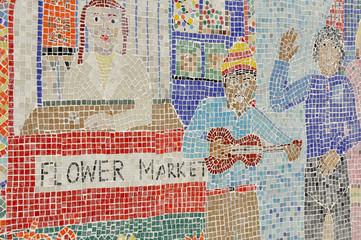 Mosaic Street Art, London