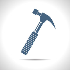 Vector  hammer icon. Eps10