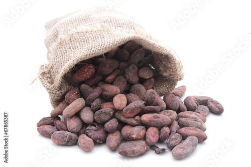 Papiers peints Confiserie fèves de cacao