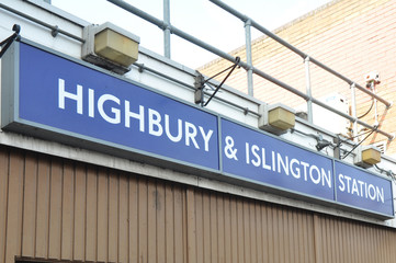 Highbury and Islington, London