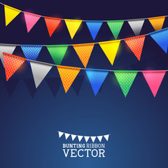Festival Bunting Ribbons
