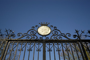 Old fashioned gate