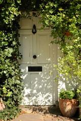 Front Door, White