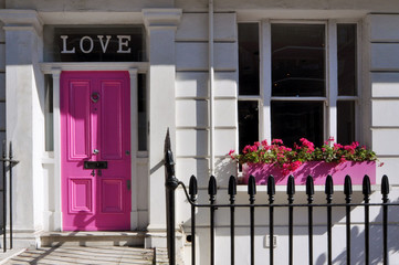 Love, Door, London