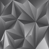Fondo abstracto poligonal de color grafito - 67869106