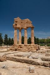 Tempio dei Dioscuri - Valle dei templi